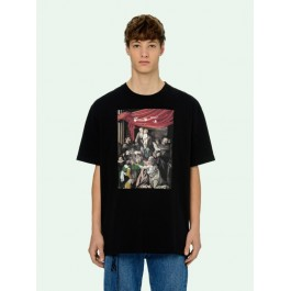 Off-White Black Caravaggio Painting S/S Over T-shirt