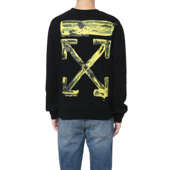Off-White Mens Black Arrows Sweatshirt