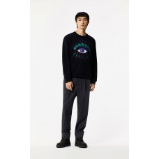 Kenzo Mens Holiday Capsule Collection Eye sweatshirt black