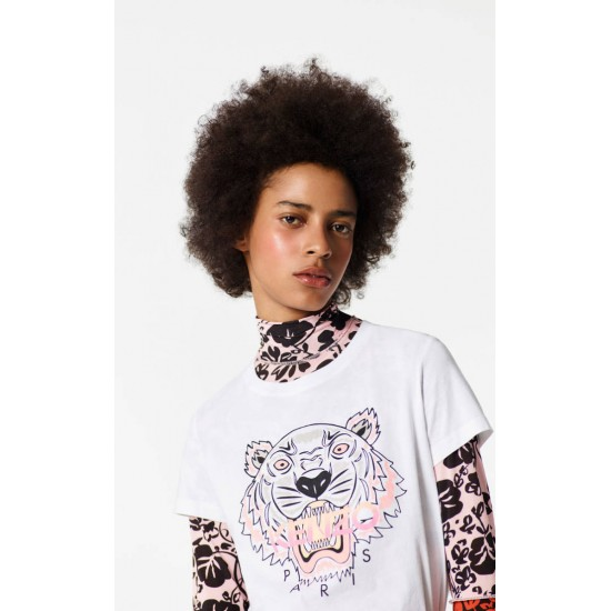 Kenzo Womens Tiger T-shirt white